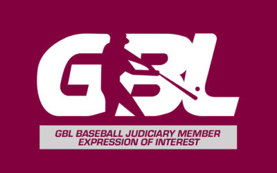 GBL Baseball Judiciary Member – Expression of interest