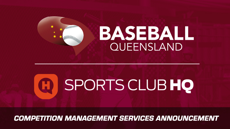 Baseball Queensland partners with Sports Club HQ