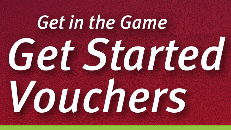 Get Started Vouchers now available