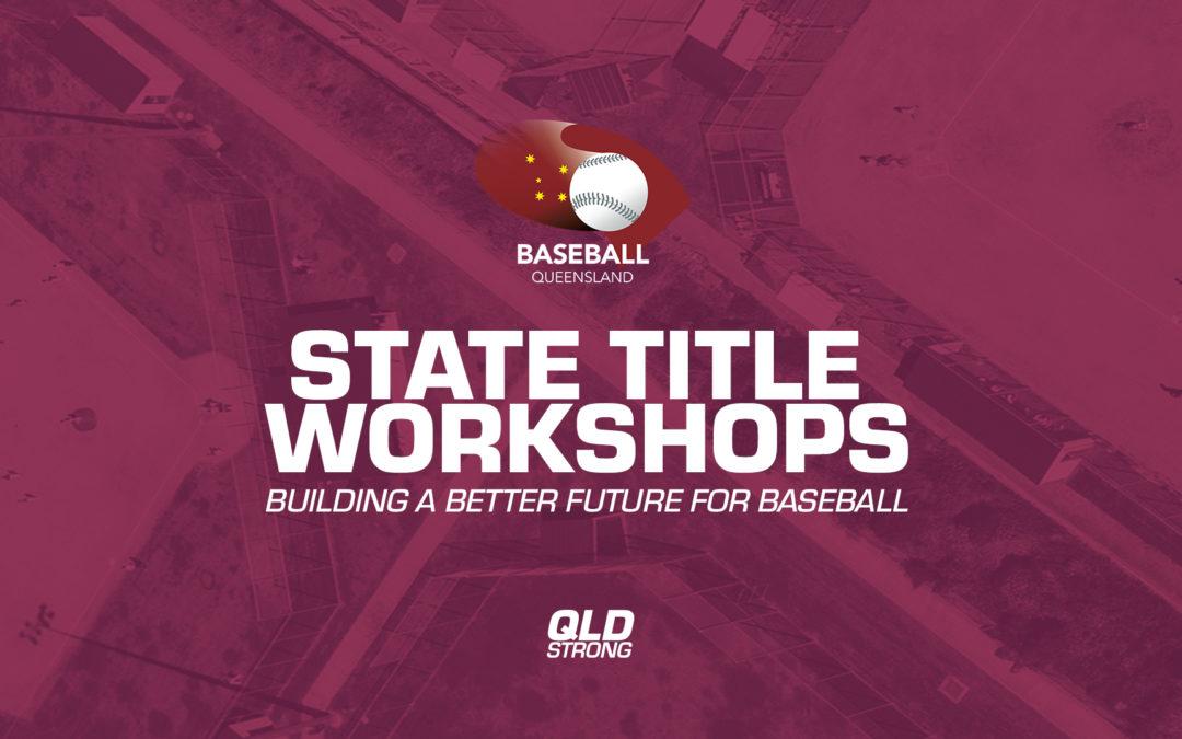 Workshops at State Titles