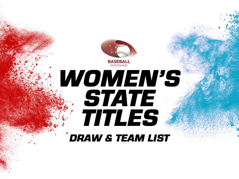 Women's State Titles: Draw and Team Lists