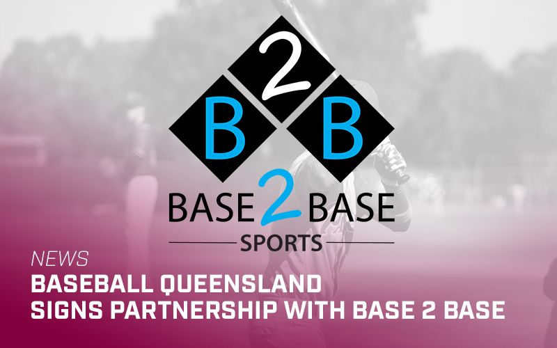 Baseball Queensland partners with Base 2 Base Sports