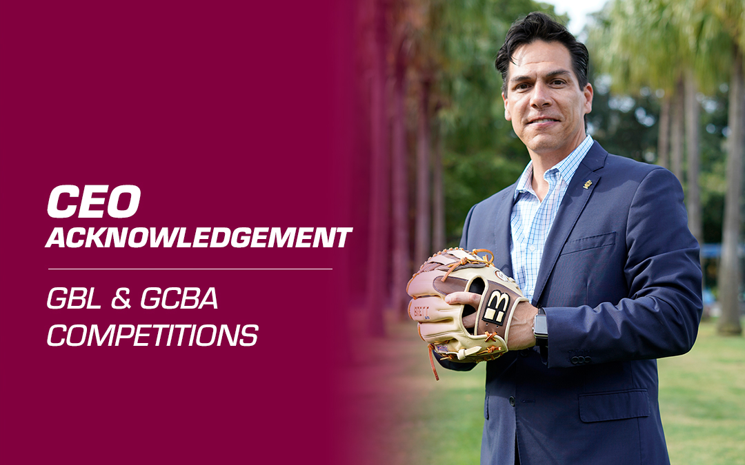 CEO Acknowledgement: GBL and GCBA