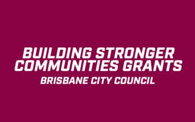 Building Stronger Communities Grants – Brisbane City Council