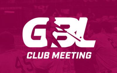 GBL Club Meeting