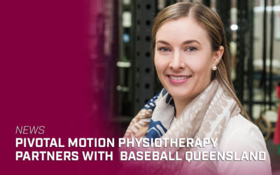 Pivotal Motion Physiotherapy partners with Baseball Queensland