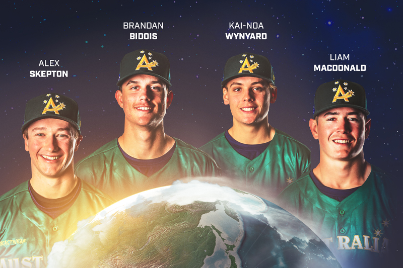 Players and Coach selected for WBSC U-18 World Cup for Team Australia