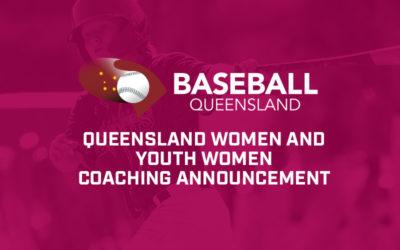 Queensland Open Women and Youth Women Coaching Announcement