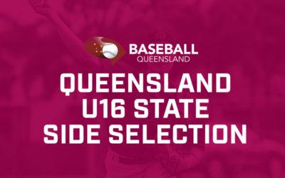 Queensland Representative Team Named for U16 Nationals