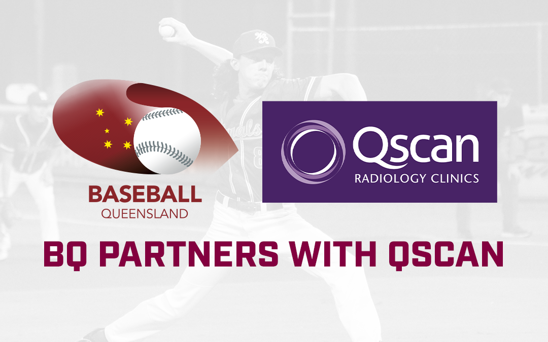 QScan partners with Baseball Queensland.