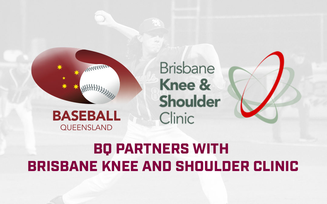 Brisbane Knee and Shoulder Clinic Partners with Baseball Queensland.