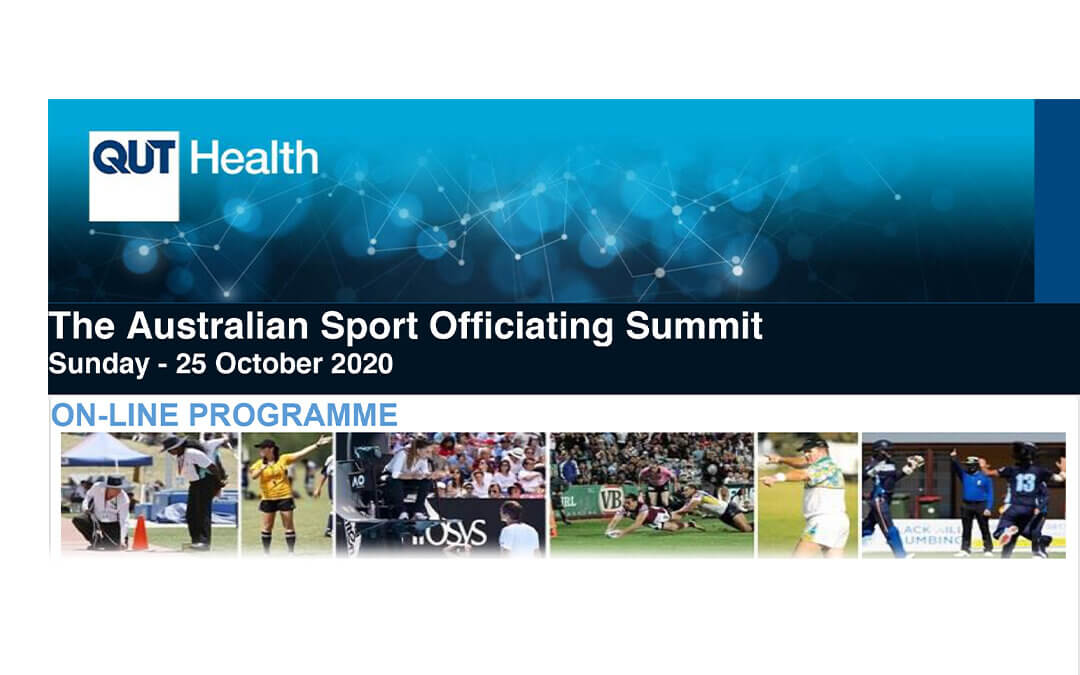 Australian Sport Officiating – Free online summit