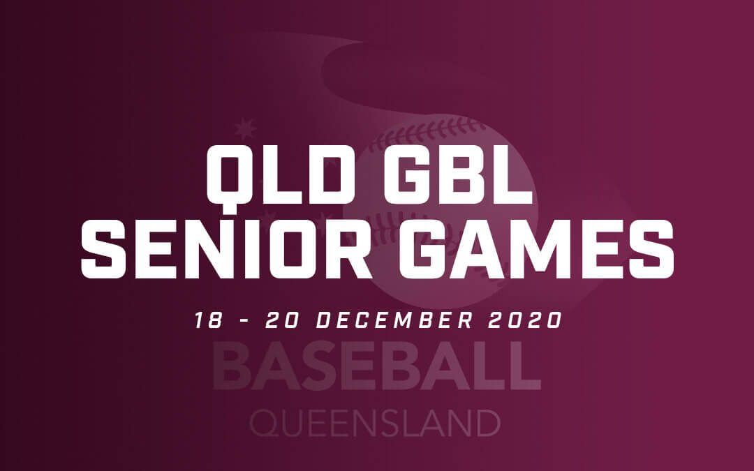 Cancellation of QLD GBL Senior Games for 2020.