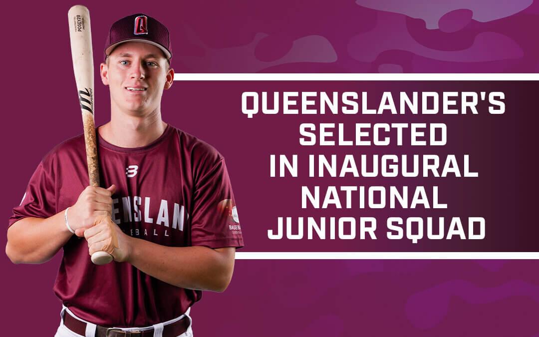 Queenslanders selected in Inaugural National Junior Squad