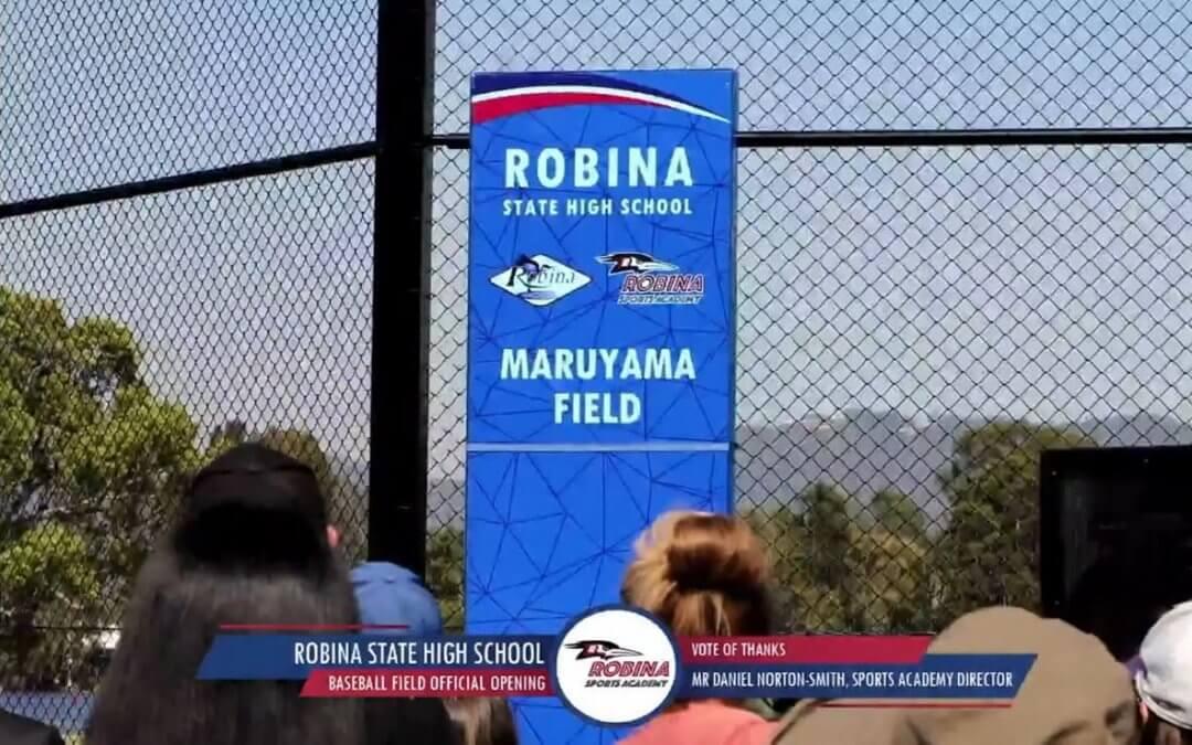 Robina State High Open Maruyama Field